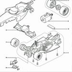 Scalextric Service Sheets